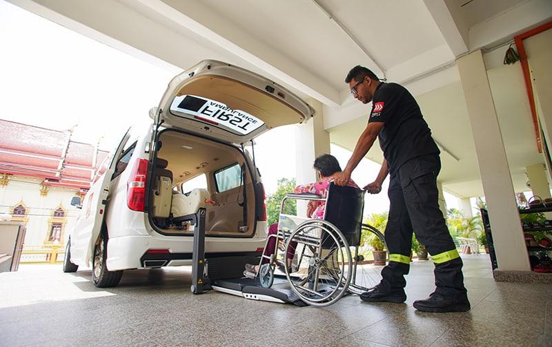 Pay-per-use ambulance services
